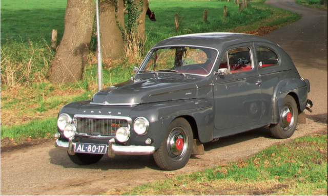 Ford Consul vs Volvo 544
