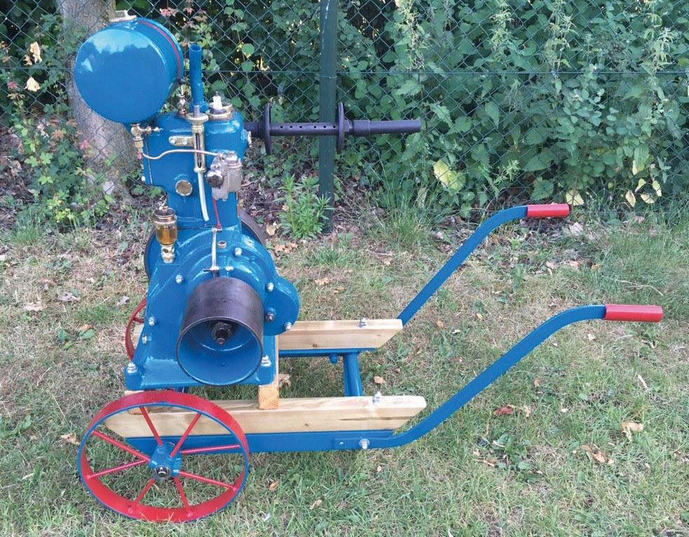 Bruneau stationaire motor