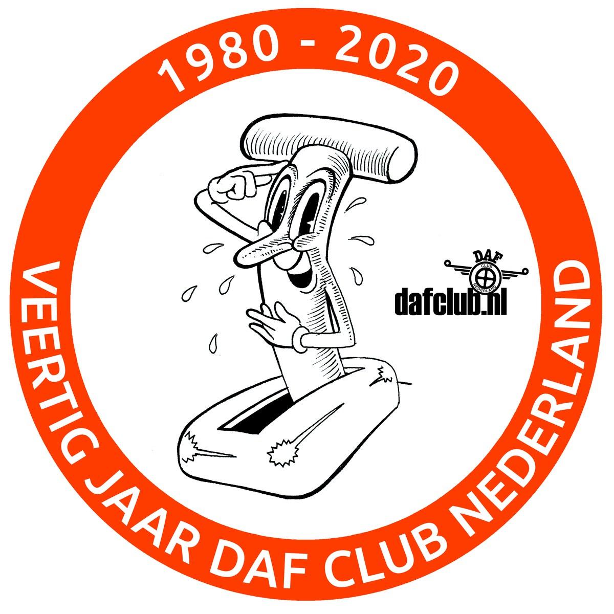 Daf Club Wintertrally Bergie op en bergie af
