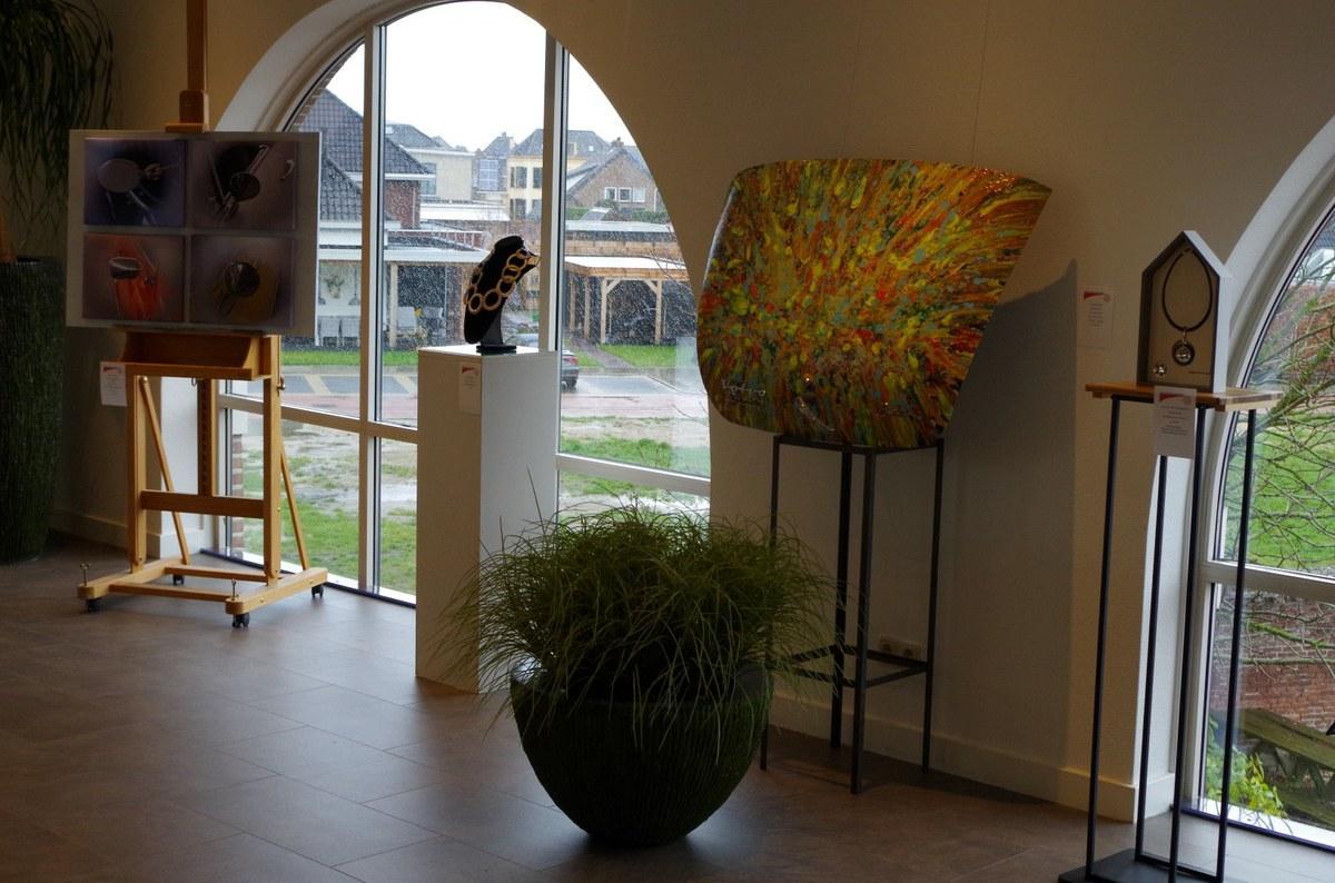 Kunst bij the Gallery Aaldering in Brummen