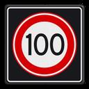 Maximum snelheid terug naar 100 km/h