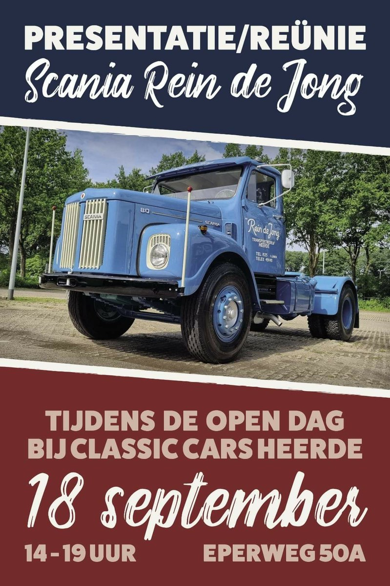 Open dag Classic cars Heerde