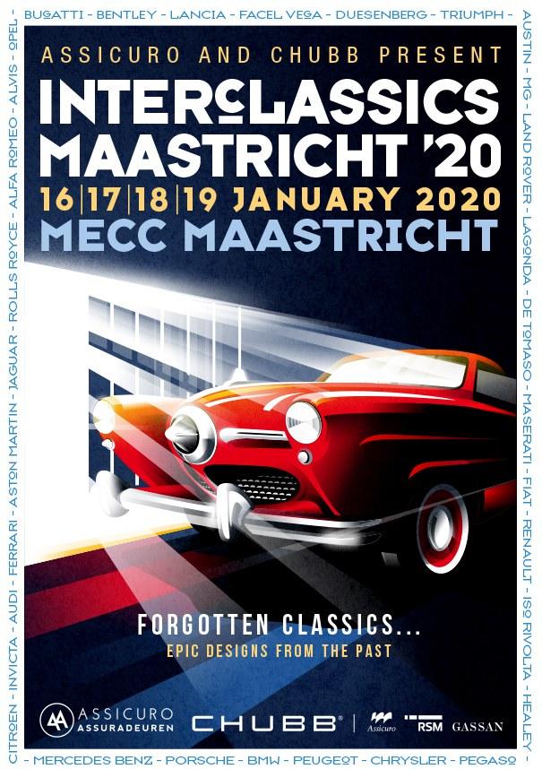 Vergeten automerken bij InterClassics Maastricht 2020
